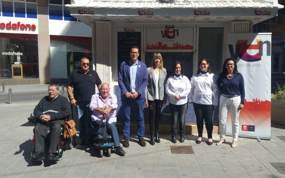 El quiosco de Turismo de Sagasta abrirá el fin de semana con información sobre Fallas