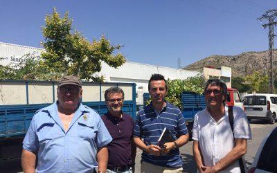 Comienzan los trabajos de mantenimiento en el Polígono Industrial Campo Alto
