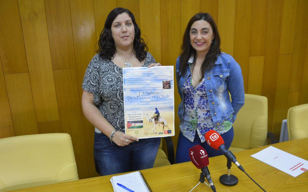 La concejalía de Solidaridad y FORINT organizan una Jornada para hablar del pueblo saharaui
