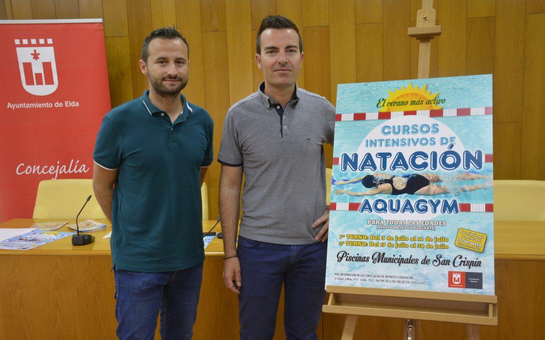 El Ayuntamiento ofrece 320 plazas para cursos intensivos de natación para todas las edades