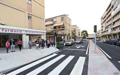 Concluidas las obras de remodelación de la calle Méjico