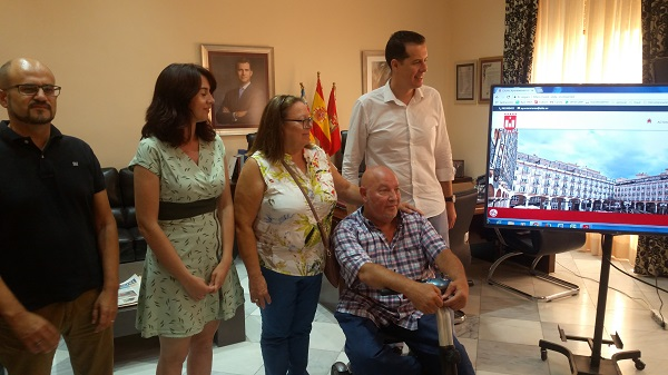 El Ayuntamiento de Elda presenta un sistema de accesibilidad para todo tipo de personas con diversidad funcional en su nueva web