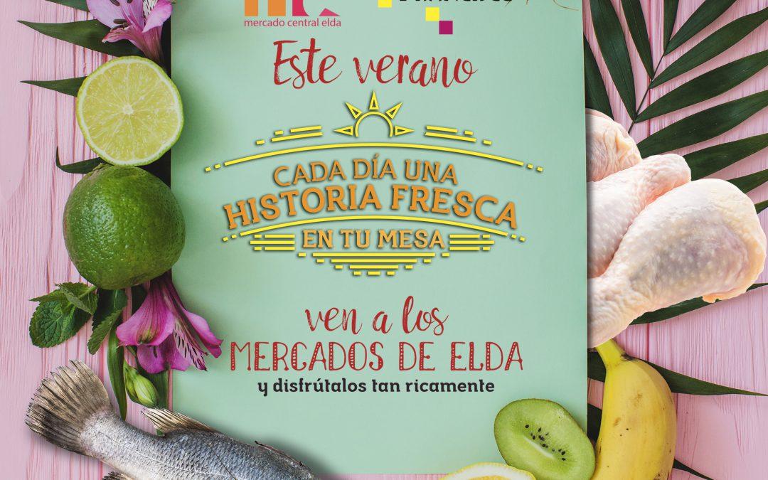 La concejalía de Comercio inicia una campaña para fomentar la visita a los mercados municipales en verano