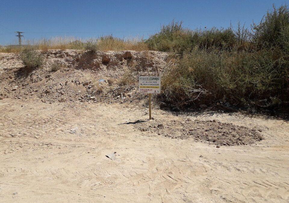 Concejalía de Medio Ambiente inicia una campaña para fomentar el uso del Ecoparque y evitar los vertidos ilegales