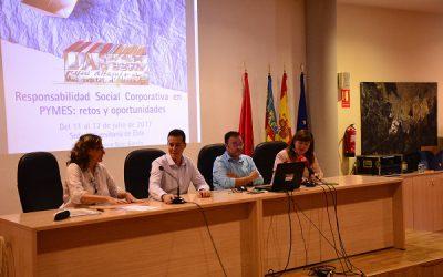 La Sede Universitaria de Elda inicia su curso sobre Responsabilidad Social Corporativa en PYMES