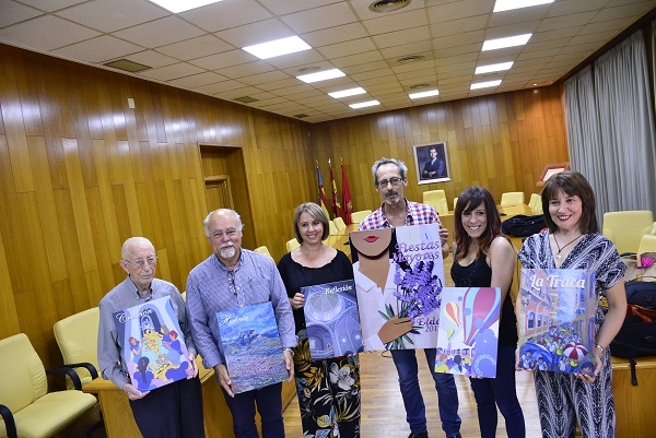 Constantino Callado autor de la portada de la revista de Fiestas Mayores que presentará Inma Arráez