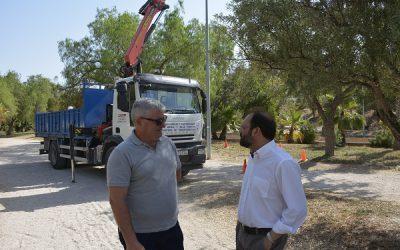El Ayuntamiento mejora y renueva los sistemas del alumbrado público en el Peri del Vinalopó