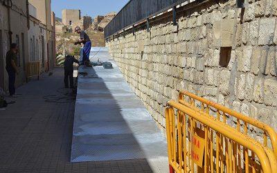 El Ayuntamiento invierte 10.000 € en mejorar la accesibilidad en la zona del antiguo matadero