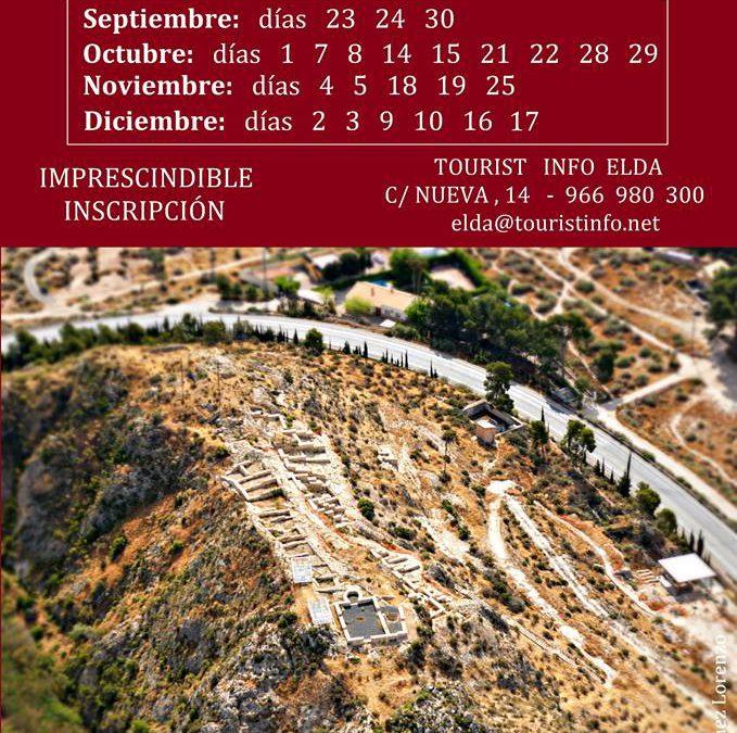 Jornadas de apertura al público del yacimiento arqueológico El Monastil