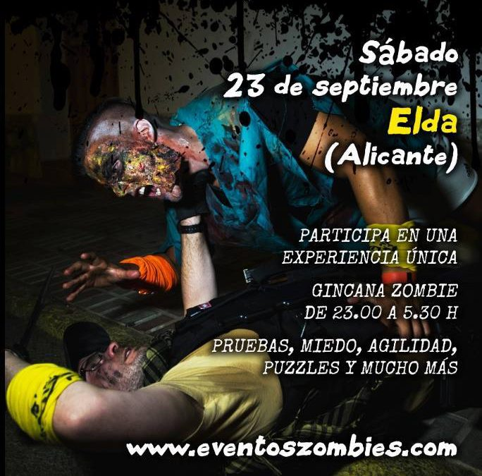 Más de 400 personas participaron en el evento zombie de este fin de semana
