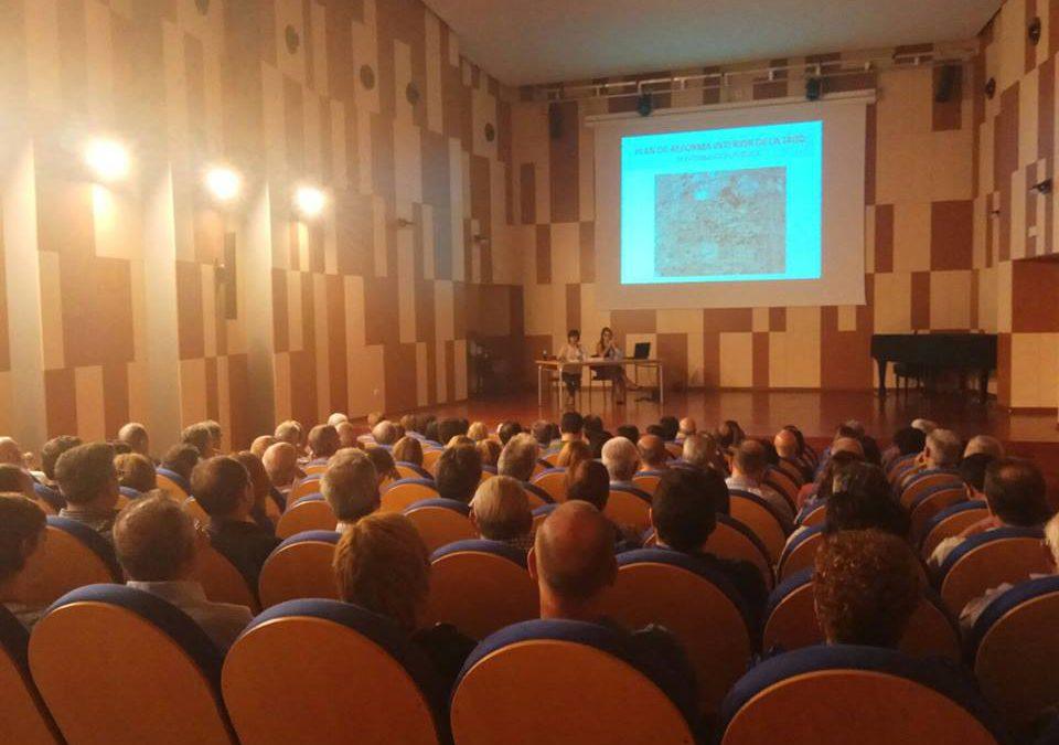 Urbanismo reúne a 150 personas en la charla técnica explicativa sobre el PRI de la Jaud