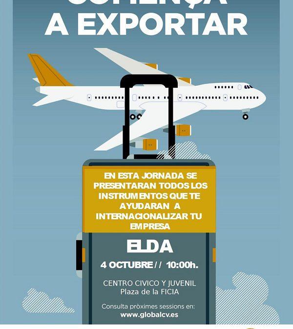 """La Cámara de Comercio y el IVACE plantean en Elda el programa """"Comienza a Exportar"""" para ayudar a las empresas en su proceso de internacionalización"""