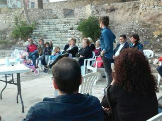 Los vecinos del barrio Numancia se unen a la Jornada Participativa llevada a cabo el pasado 28 de octubre