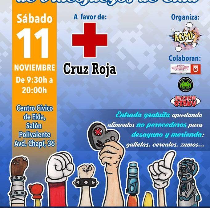Asociación ACME y la concejalía de Juventud  preparan una Jornada Solidaria de Videojuegos a favor de Cruz Roja