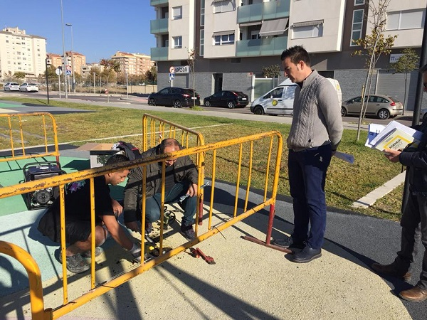 Mantenimiento y Jardines revisa ya todos los parques infantiles de la ciudad