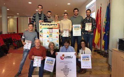 La COMIJ presenta la Agenda Comarcal de Juventud bajo el nombre de  Vinalojóven