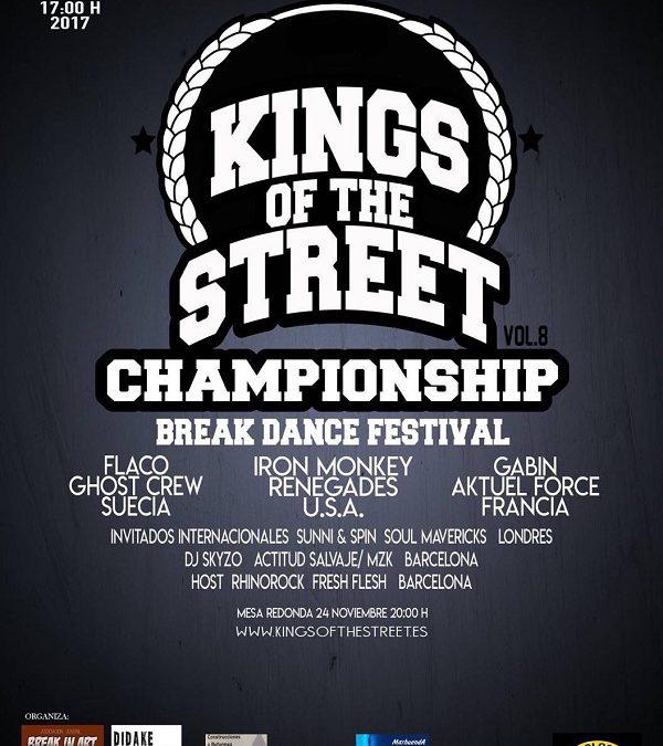 Elda acoge la VIII edición de Kings of the Streets, el campeonato nacional de breakdance