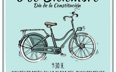 La FAVE celebra la XXX Marcha Popular de Bicicletas para el Día de la Constitución