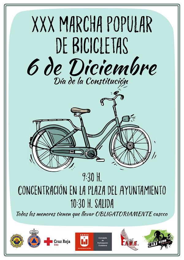 cartel bicicletas 2017