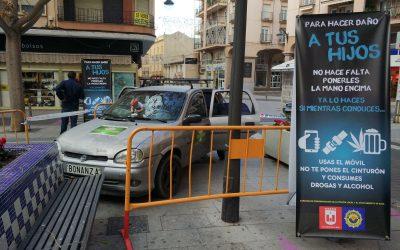 Policía Local prepara una campaña de concienciación para alertar sobre las consecuencias que los malos hábitos al volante pueden tener en los más pequeños