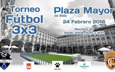 La Plaza Mayor se convertirá este sábado en el escenario del torneo de Fútbol 3×3