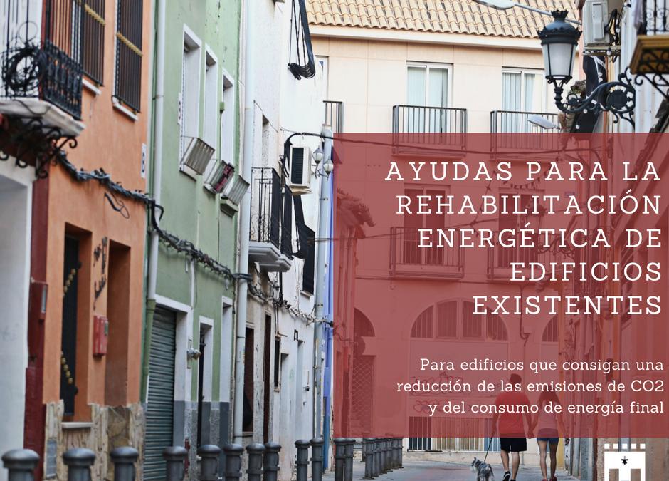 Se inicia el Programa de Ayudas para la Rehabilitación Energética de Edificios Existentes