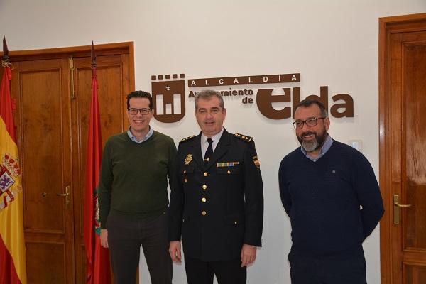 Pedro Andrés Montiel, nuevo comisario de Elda-Petrer