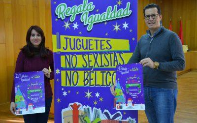La Carpa de la Navidad de la Plaza Castelar acoge un Poblado de la Igualdad con talleres de juguetes no bélicos ni sexistas