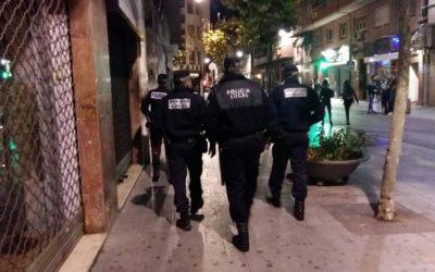 La Policía Local levanta medio centenar de actas en la campaña de vigilancia y conductas incívicas de los tres últimos fines de semana