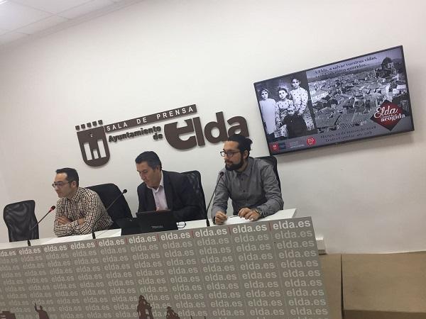 """El Ayuntamiento presentará el martes el  documental """"Elda, tierra de acogida"""" sobre el papel de la ciudad durante la Guerra Civil"""