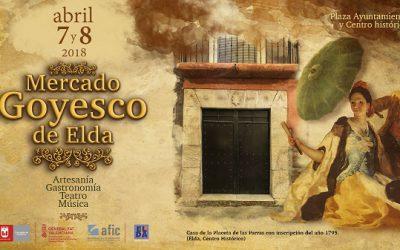El Ayuntamiento reprograma el Mercado Goyesco para los días 7 y 8 de abril