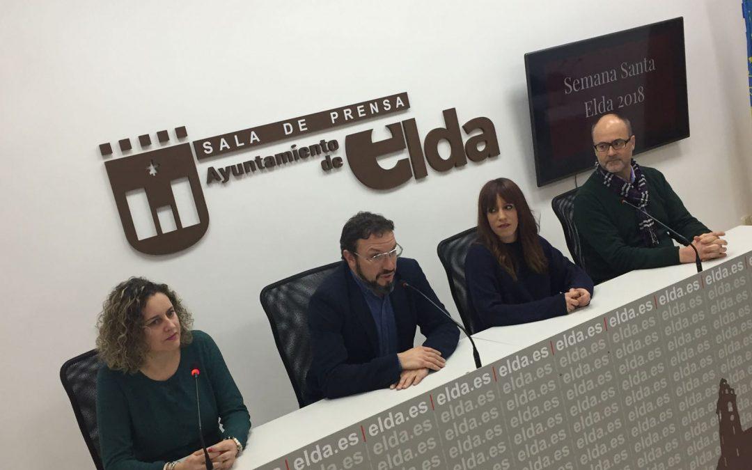 Gabriel Segura, Cronista Oficial de Elda, será el pregonero de la Semana Santa Eldense