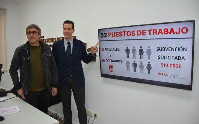 El Ayuntamiento solicitará una subvención de más de medio millón de euros para contratar a 32 jóvenes