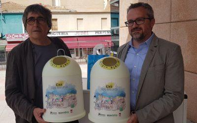Ecovidrio y el Ayuntamiento fomentan el reciclaje de envases de vidrio en el Mercado