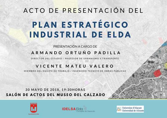 Mañana se presenta el Plan Estratégico Industrial con el objetivo de potenciar el tejido productivo de la ciudad