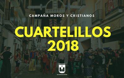 El número de cuartelillos para Moros y Cristianos crece hasta los 336, trece más que el año pasado