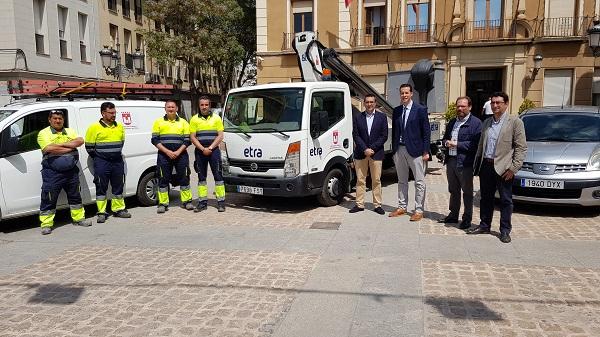 El Ayuntamiento invertirá 165.000 € anuales en el nuevo servicio de mantenimiento y conservación del alumbrado público