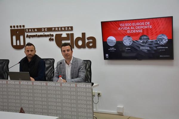 132.500 euros de subvenciones para ayudar al deporte eldense