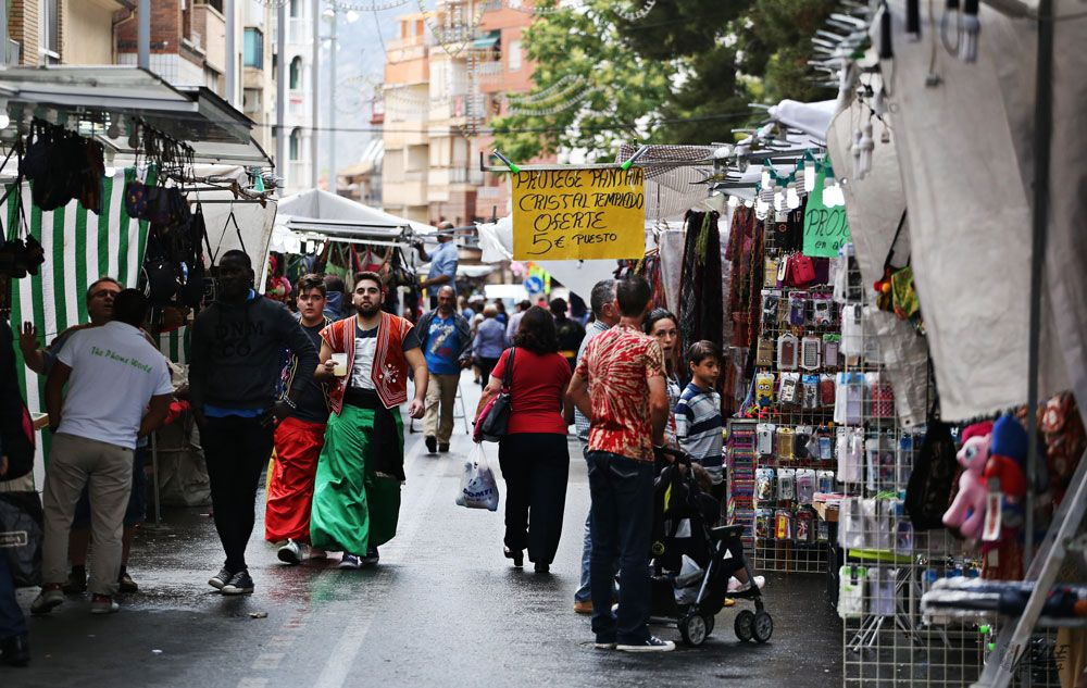 El Zoco de fiestas de Moros y Cristianos contará con 90 puestos de venta