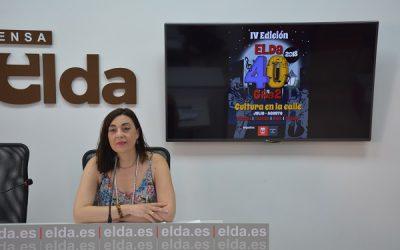 """Vuelve la cultura a la calle con un """"Elda 40 Gra2"""" con más actuaciones"""