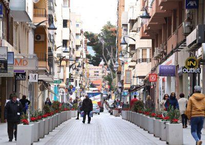 Juan Carlos I y adyacentes será peatonal los fines de semana de verano