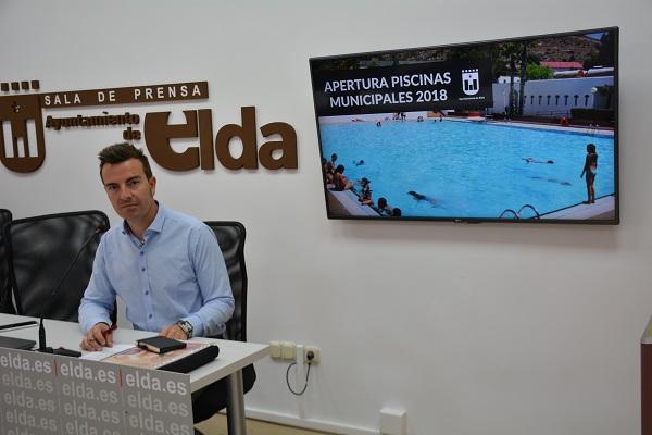 Este sábado se abren piscinas municipales de San Crispín en las que trabajarán 56 personas durante el verano