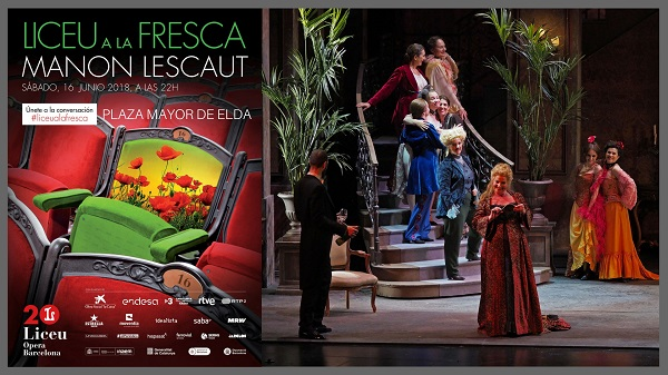 Vuelve la ópera este sábado a la plaza Mayor con el programa Liceu a la Fresca