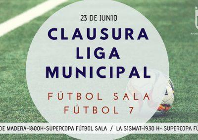 Finalizan las ligas de Fútbol Sala y de Fútbol 7 con la disputa de la Supercopa de ambas categorías