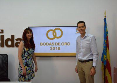 El Ayuntamiento homenajea a las parejas que cumplen este año sus Bodas de Oro en un gala que se celebrará en otoño en el Teatro Castelar