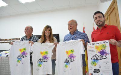 """El artista eldense Pepe Ortín, autor de la camiseta para """"correr la traca"""""""