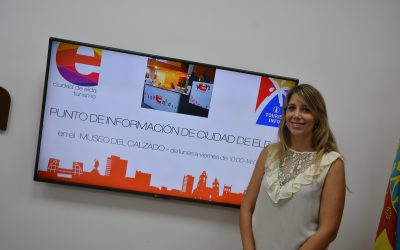 El Ayuntamiento abre un punto de información turística en el Museo del Calzado