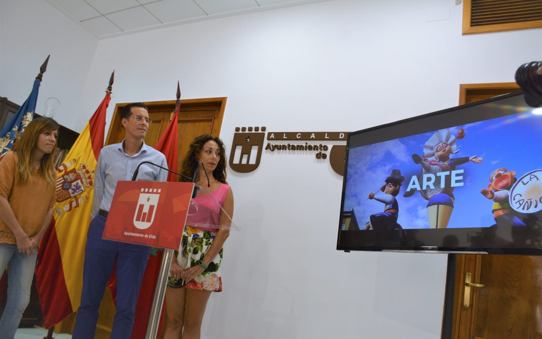 El Ayuntamiento presenta un nuevo spot para promocionar las Fallas de Elda