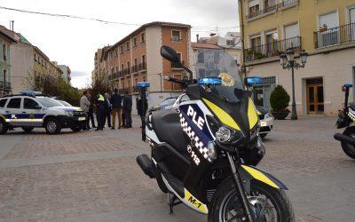 La Policía Local detiene a un hombre por daños a vehículos y a una entidad bancaria