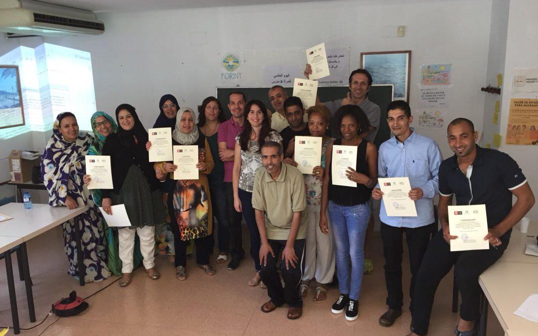 Concluye el curso de Castellano para Ciudadanos Extranjeros realizado por el Ayuntamiento de Elda